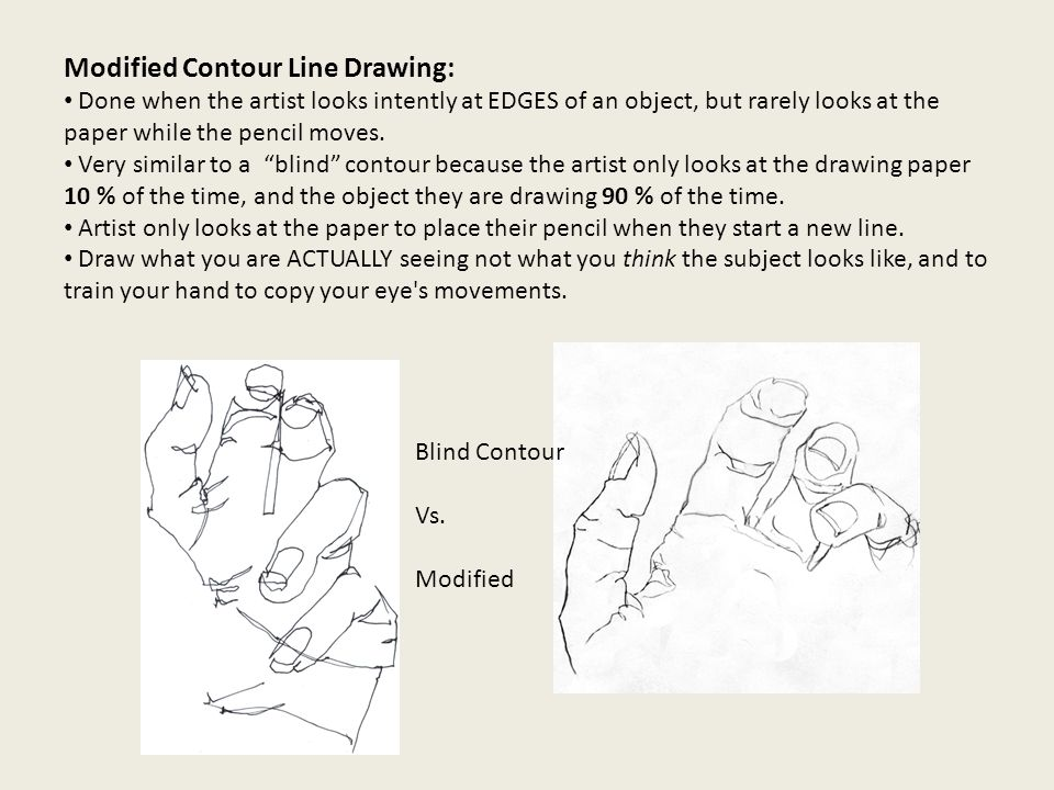 Contour Line Drawing Powerpoint : Contour line drawing lines that surround