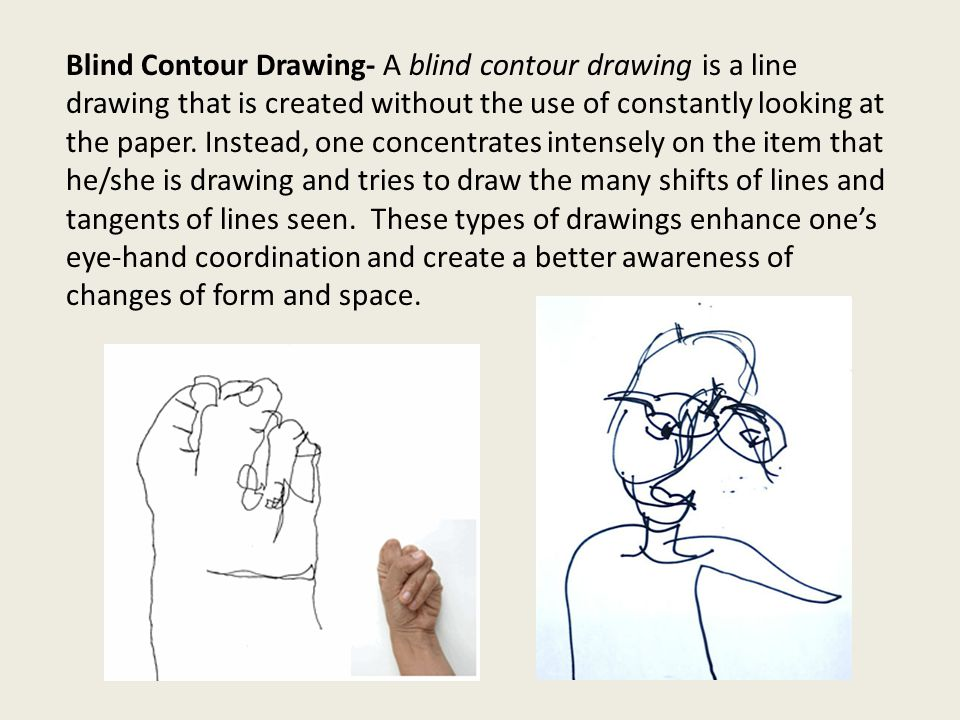 Types Of Contour Line Drawing : Contour line drawing lines that surround