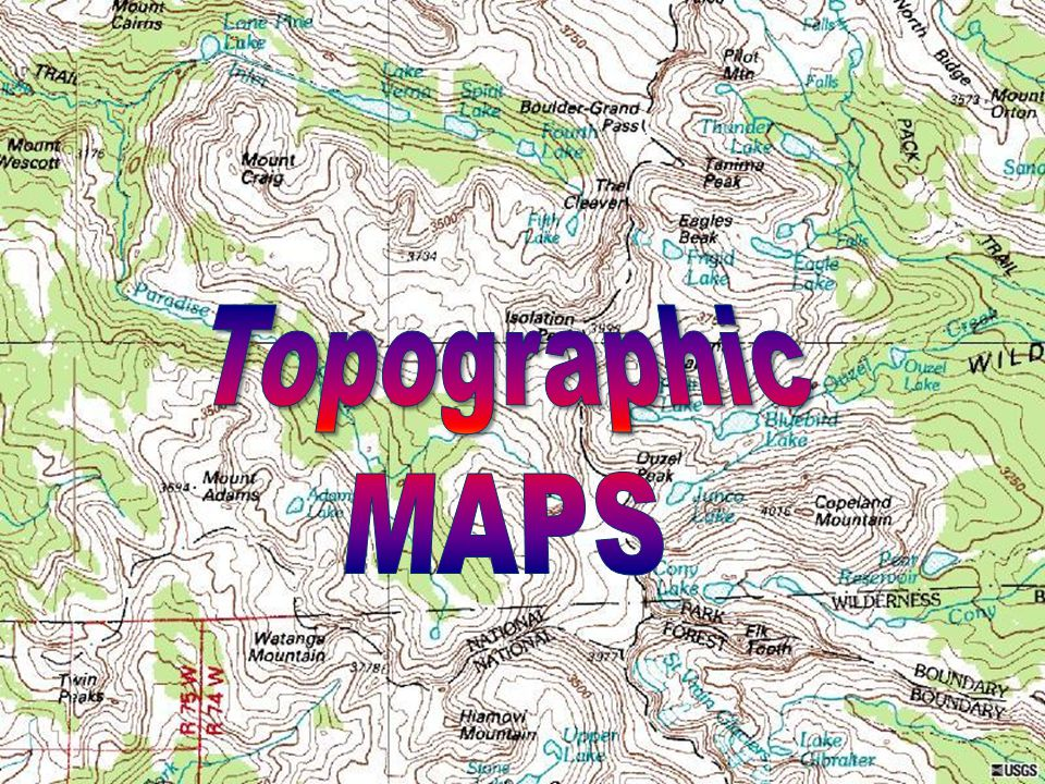 Topographic MAPS. - ppt video online download