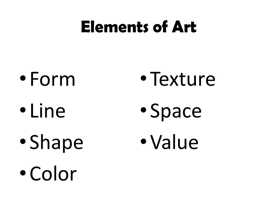 Line Shape Space : Line value shape form space texture and color images
