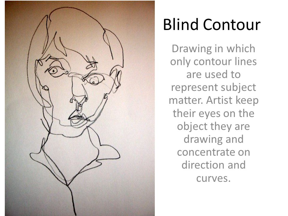 Contour Line Drawing Powerpoint : Allen high school fall semester midterm exam ppt download