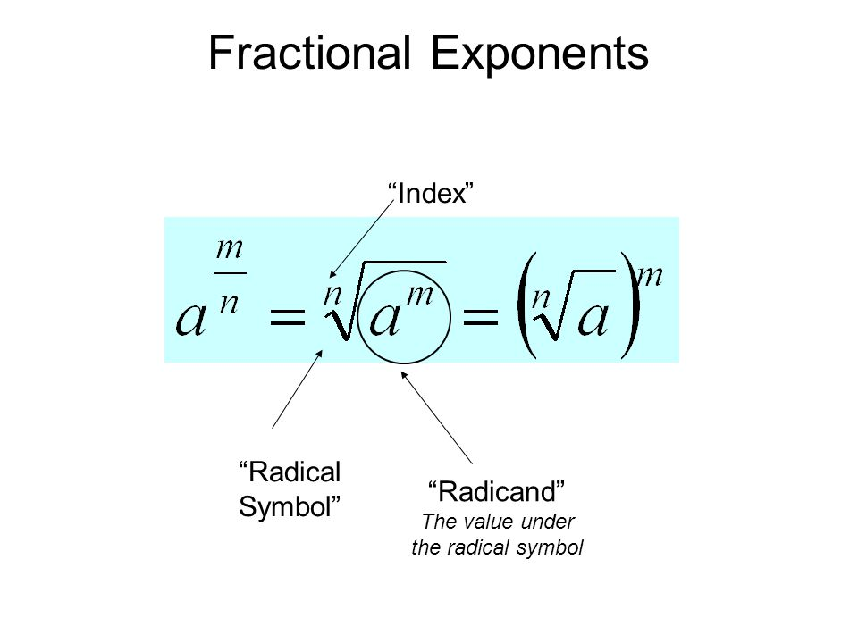 Rational Exponents, Radicals, Growth and Decay - ppt download