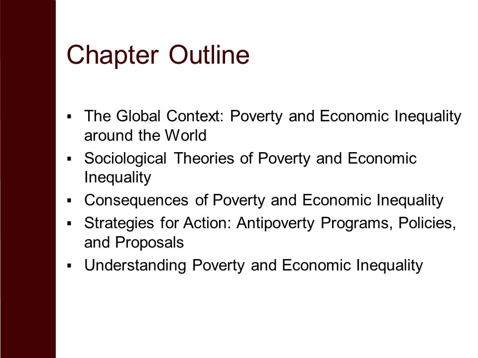 sociologist and poverty