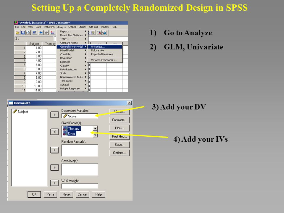 spss how to put double slash y axis