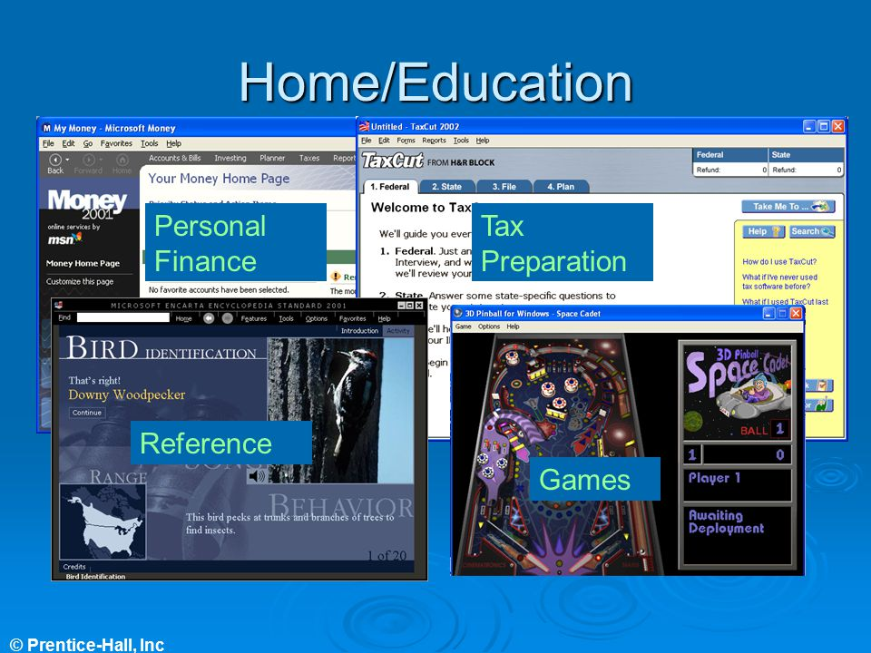 Home/Education Personal Finance Tax Preparation Reference Games