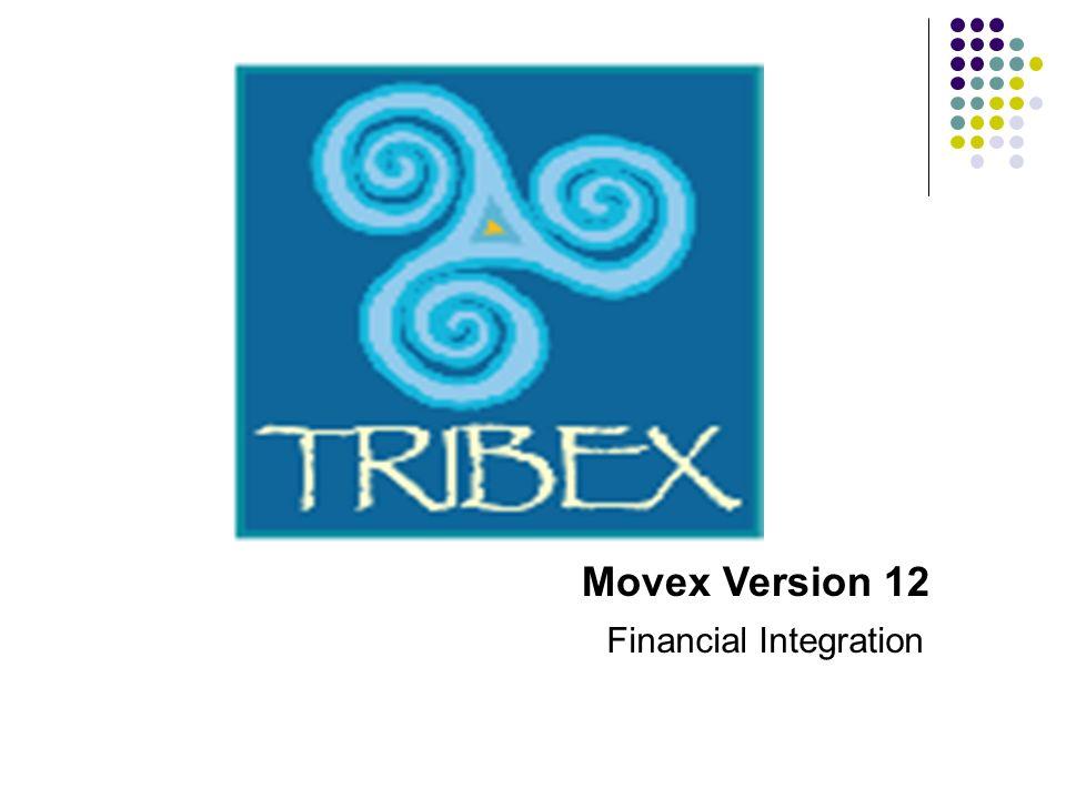Movex Version 12 Financial Integration