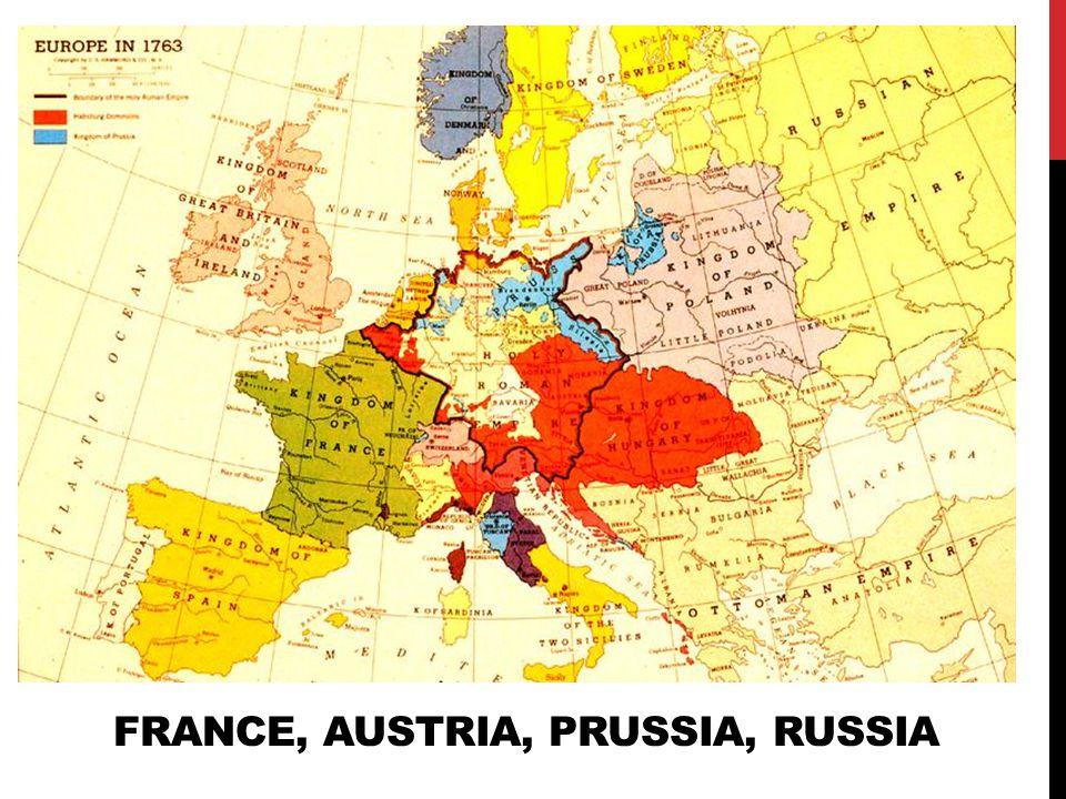 austria prussia and russia rise to Napoleon against russia and prussia: 1806-1807  like austria, she sends  troops against russia.