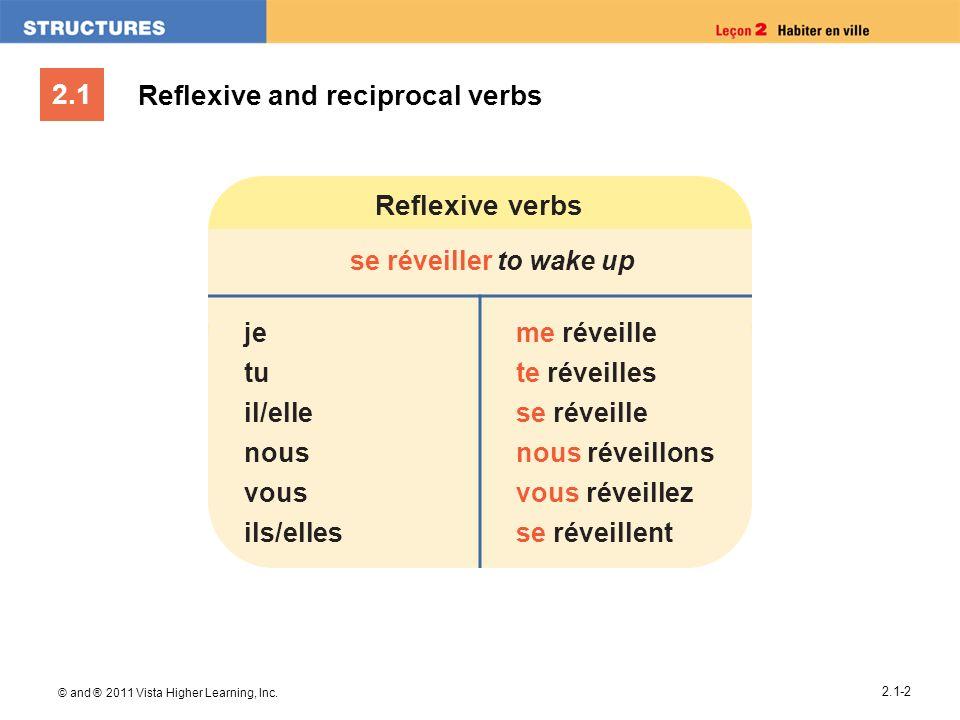Reflexive and reciprocal verbs