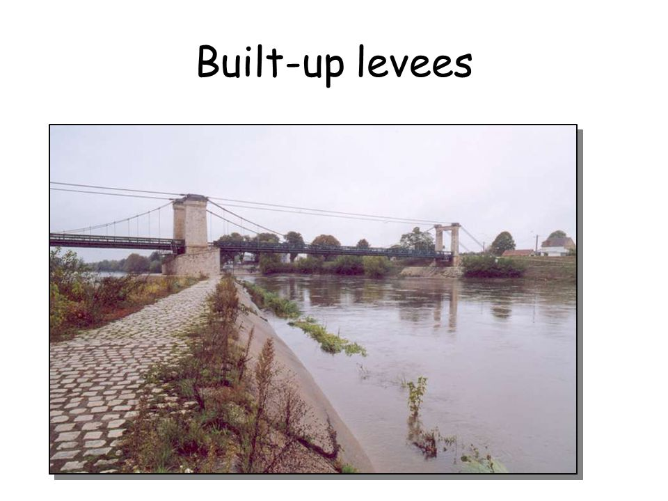 Built-up levees