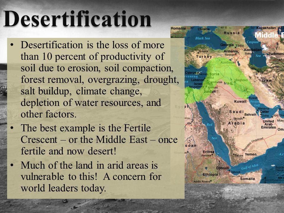 Soil Degradation And Conservation Ppt Video Online Download - Desertification Us Soil Erosion Map Us