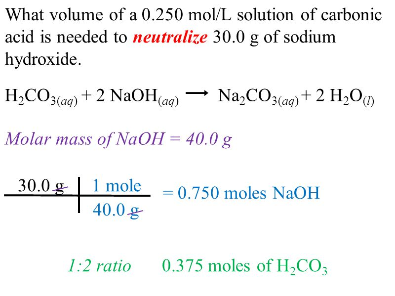 molar mass of naoh What is the molarity of naoh a:  in cases where the amount of sodium hydroxide is given in grams, it should first be converted to moles by using its molar mass.