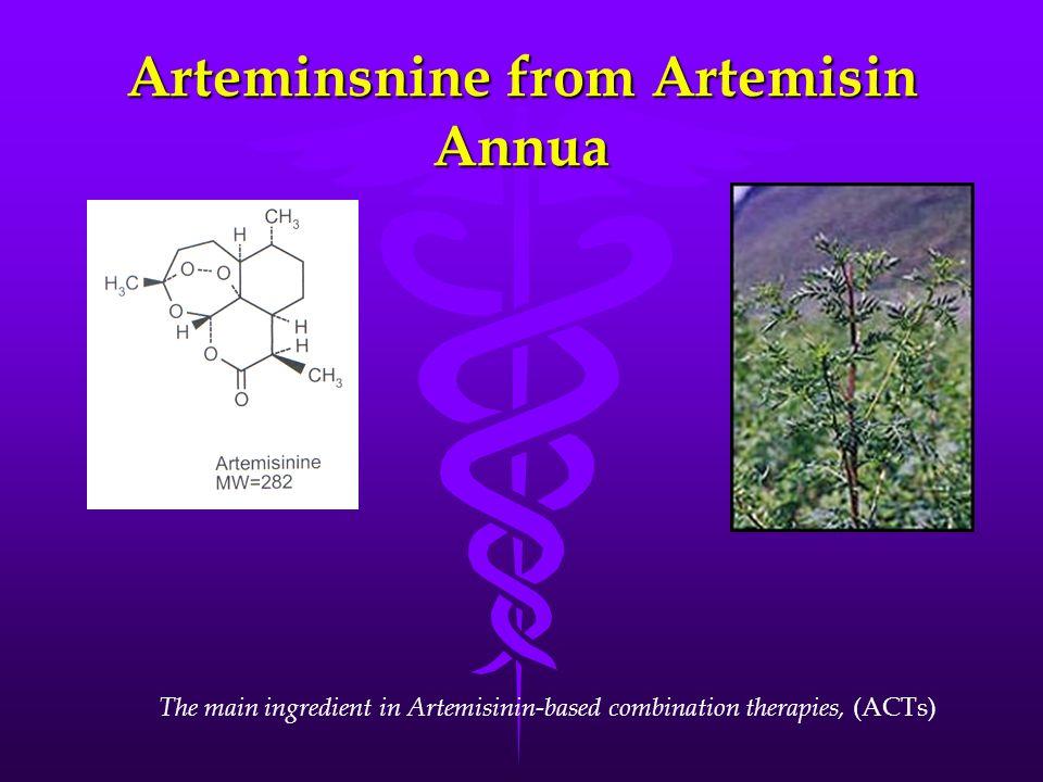 Arteminsnine from Artemisin Annua