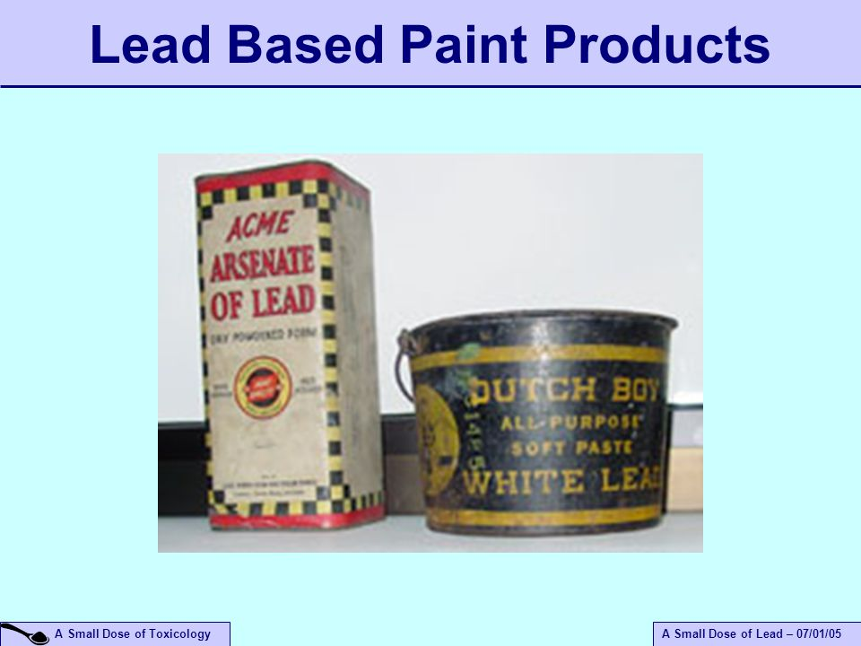 An Introduction To The Health Effects Of Lead Ppt Video