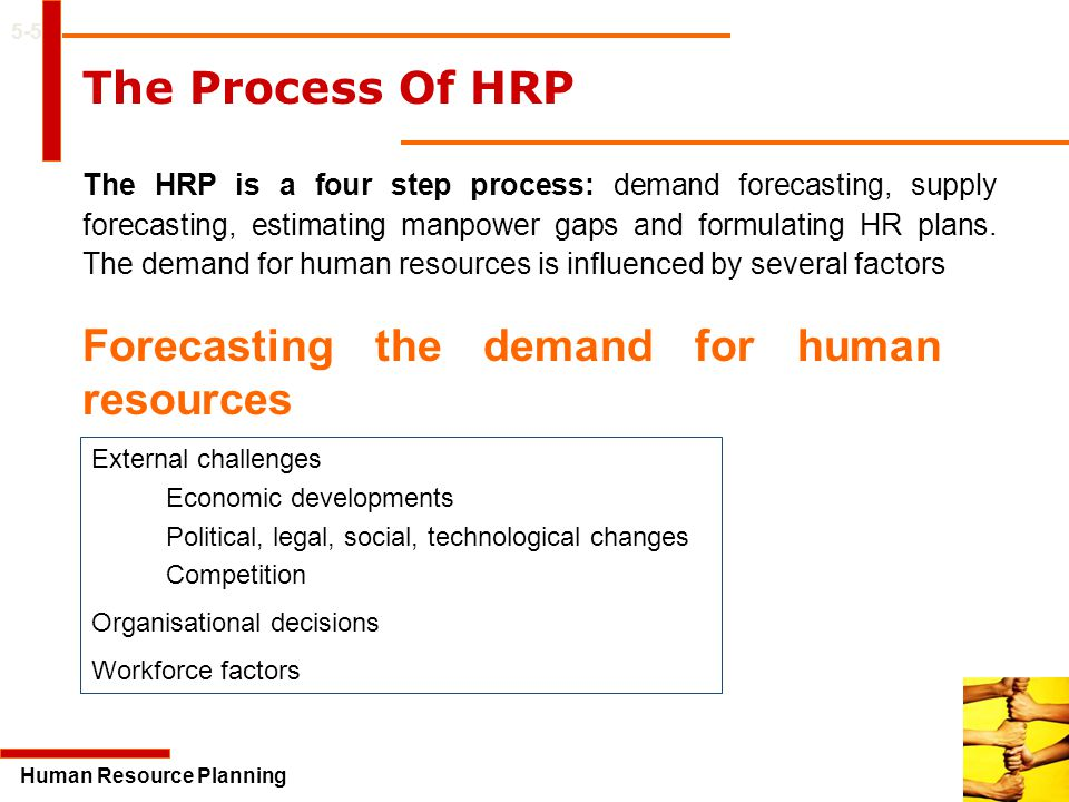 Forecasting the demand for human resources