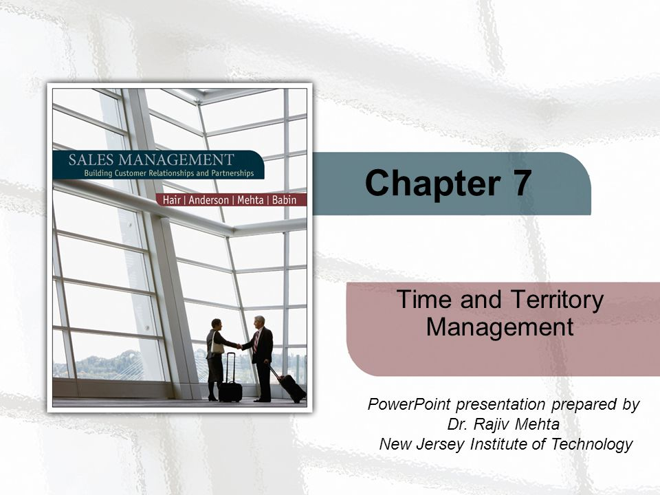 Time And Territory Management Ppt Video Online Download