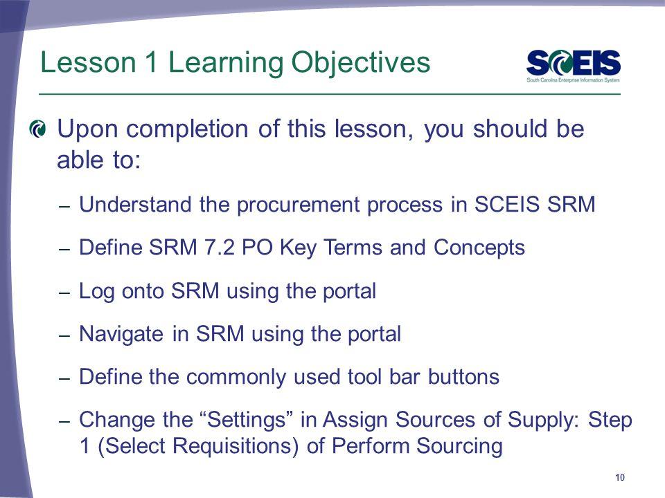 key terms in procurement pdf
