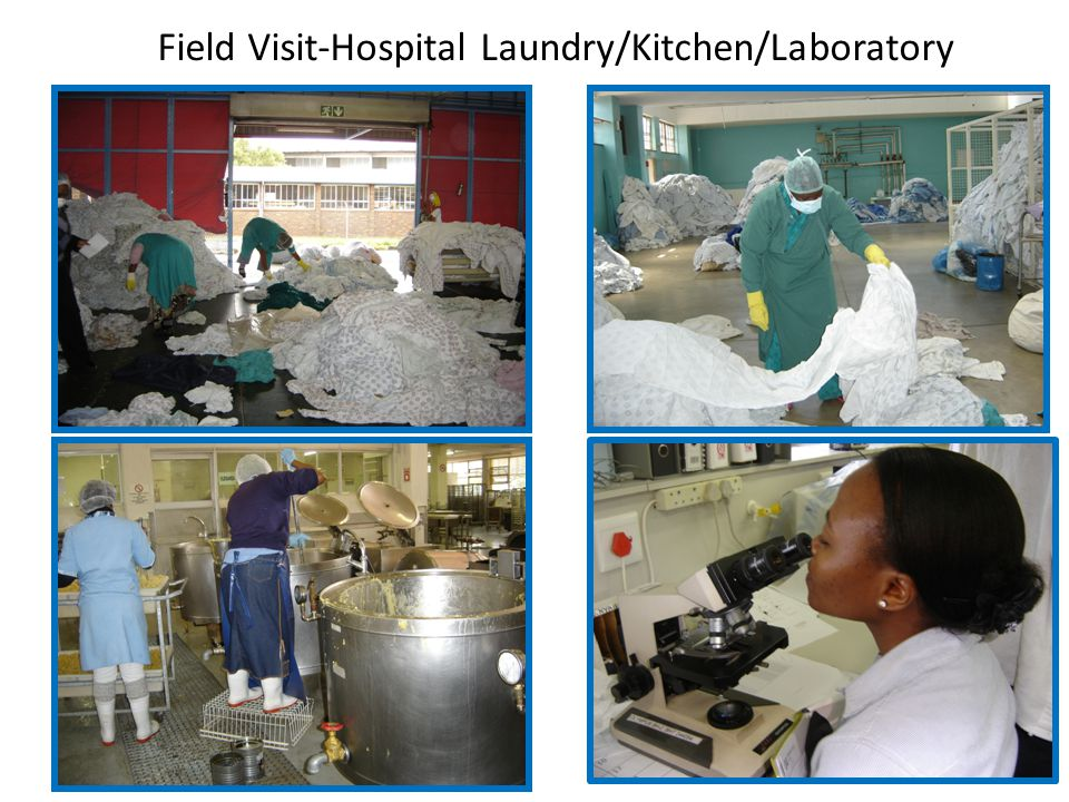 Field Visit-Hospital Laundry/Kitchen/Laboratory