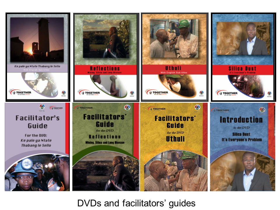 DVDs and facilitators' guides