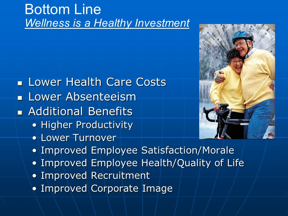 Bottom Line Wellness is a Healthy Investment