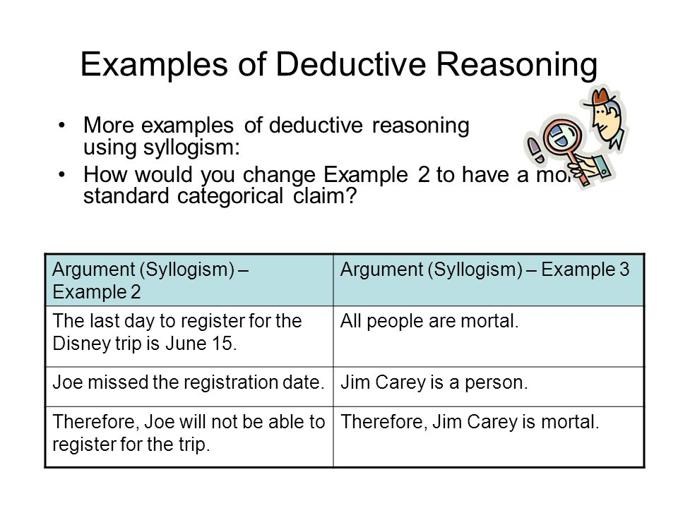 three types of fallacious reasoning Study types of fallacies flashcards at proprofs - types of fallacies two choices are given when in fact there are three options.