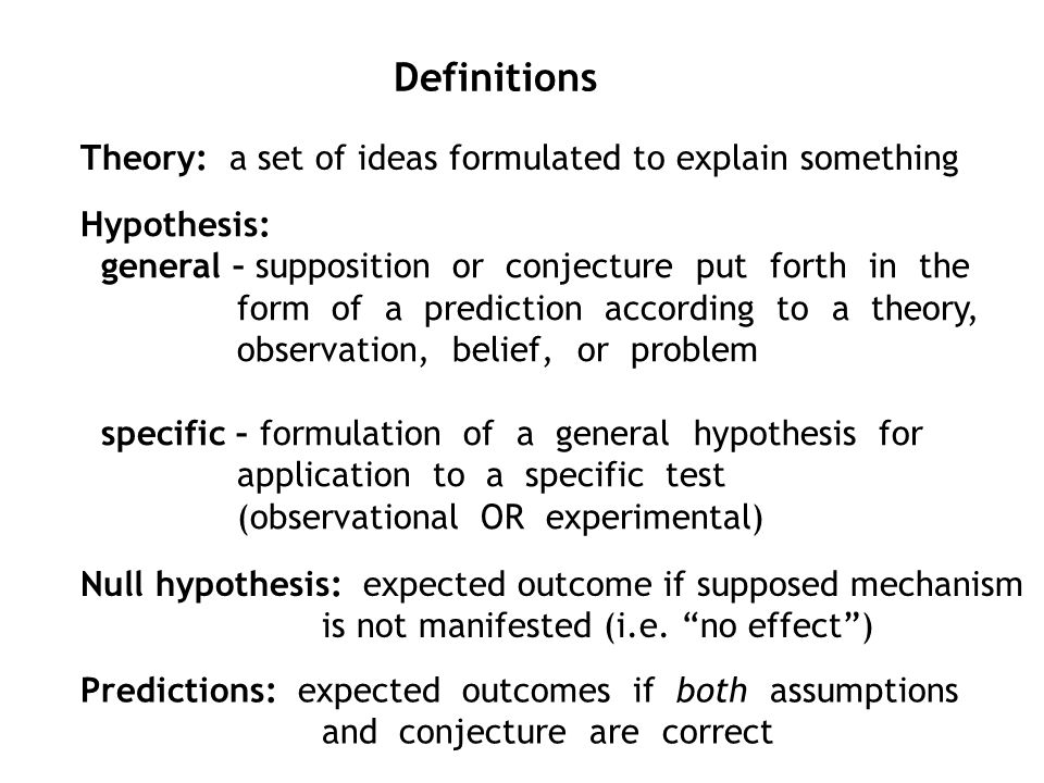 hypothesis and prediction examples Best answer: a prediction is what you think will happen, and a hypothesis is what you think will happen because of a reason for example, lets say.