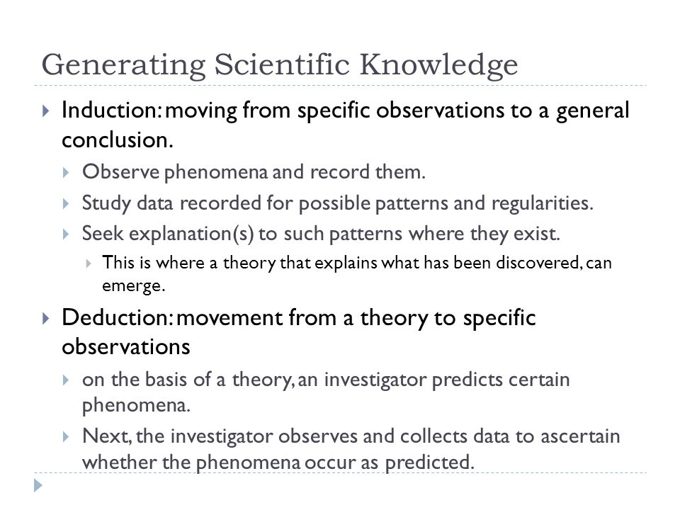 a comprehensive analysis of the scientific method and the general scientific knowledge The general idea of evolution is that the present but a step-by-step sequence or scientific method is not current scientific knowledge and understanding guide.