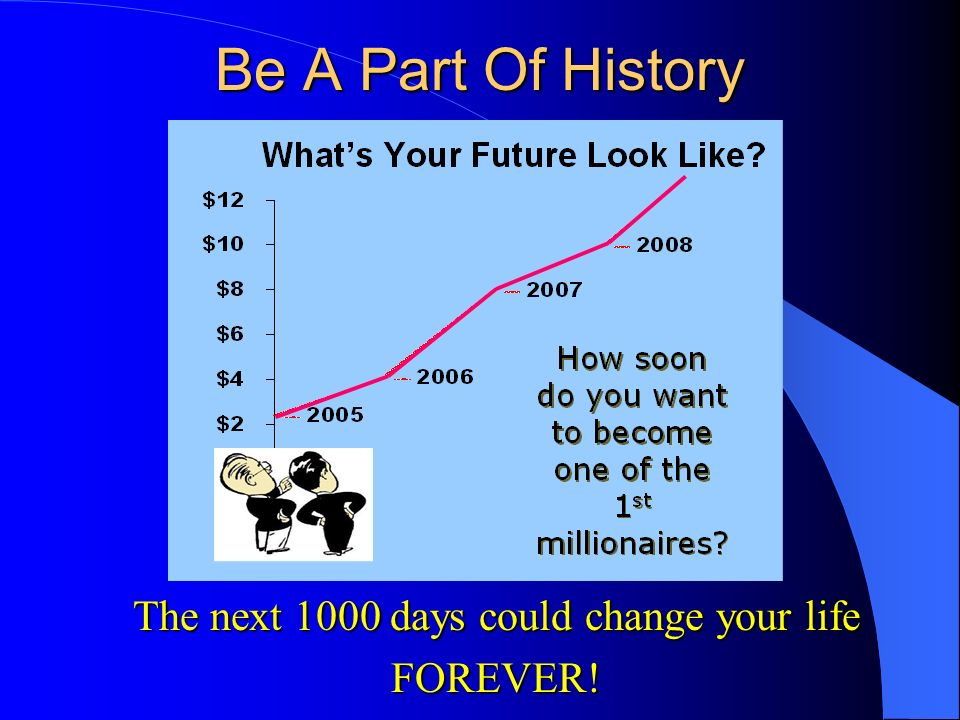 The next 1000 days could change your life