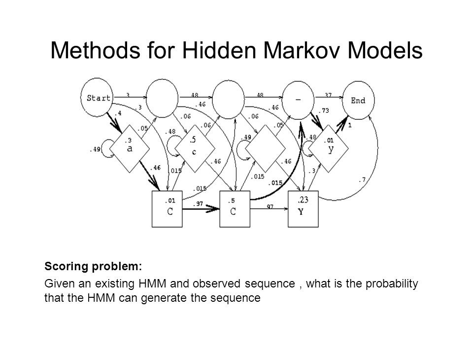Methods for Hidden Markov Models