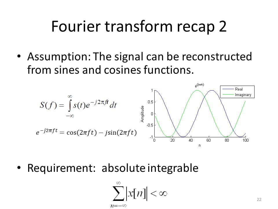Fourier transform recap 2