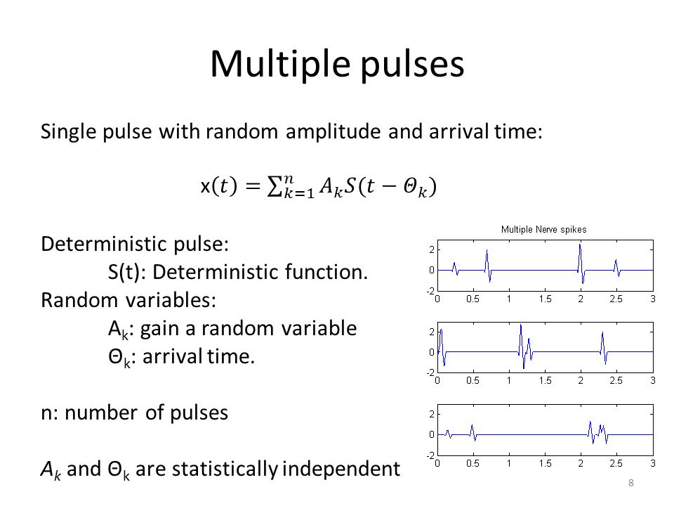 Multiple pulses