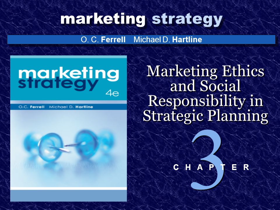 marketing ethics and social responsibility Chapter 3 the marketing environment, ethics, and social responsibility chapter objectives identify the five components of the marketing environment.