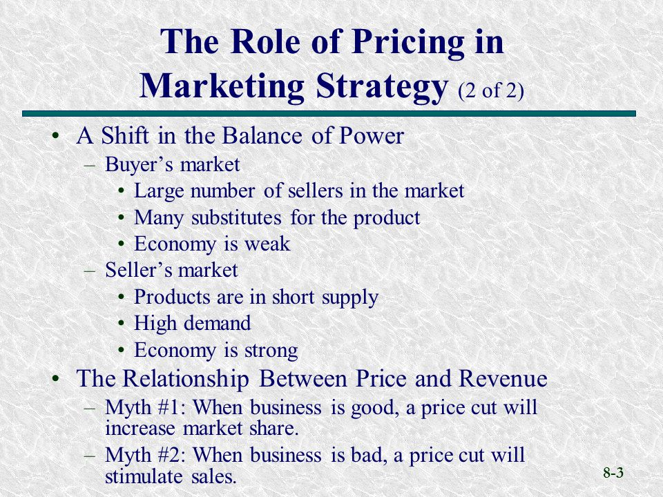 the role of marketing in business and economy Marketing is perhaps the most important activity in a business because it has a  direct effect on profitability and sales  larger businesses will dedicate.
