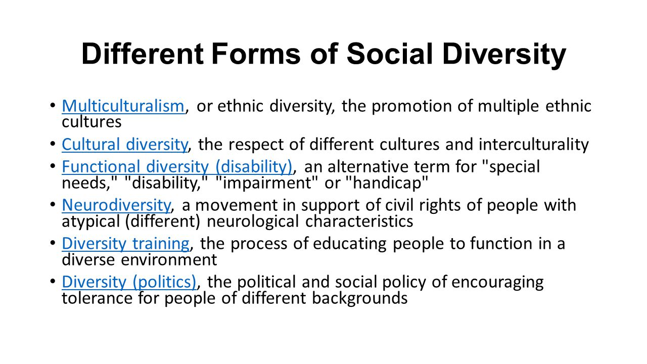 social and cultural diversity Identity and cultural diversity examines immigration and its effect on diversity from a social psychological perspective immigration increases cultural.