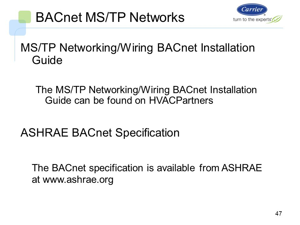 i-vu open system bacnet ms/tp networks bus wiring. - ppt ... asme flow switch amp tp wiring diagram bacnet ms tp wiring guide