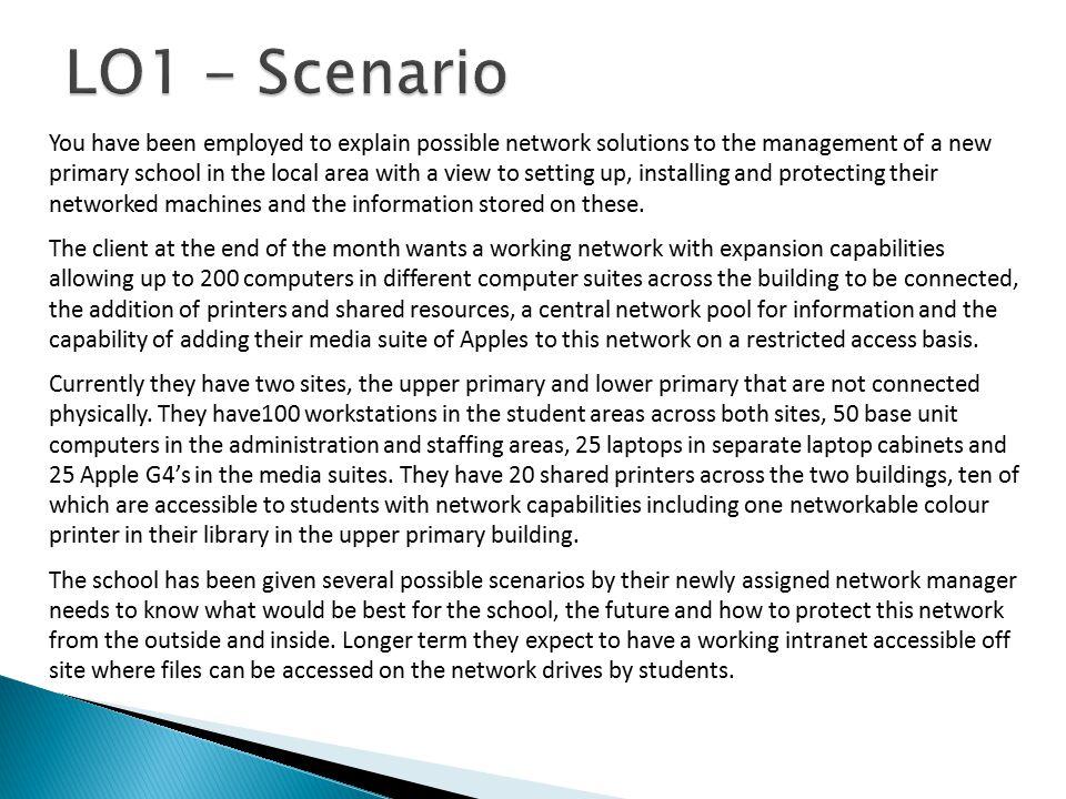 LO1 - Scenario