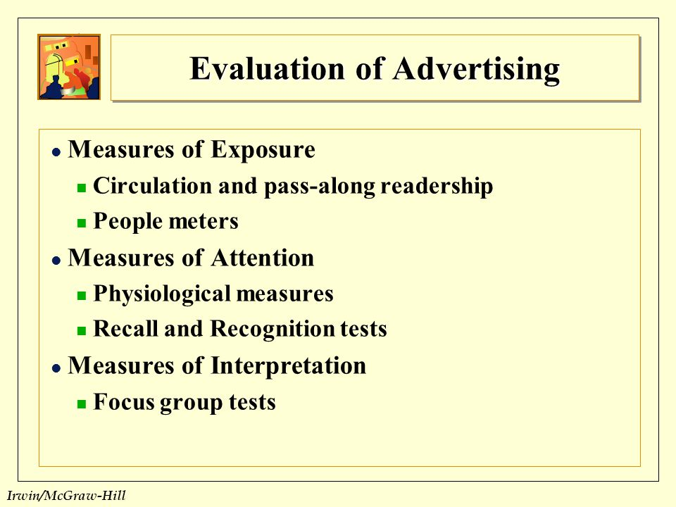 Evaluation of Advertising