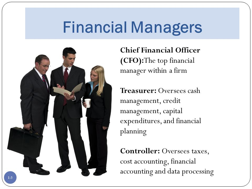 What does a Financial Manager do?