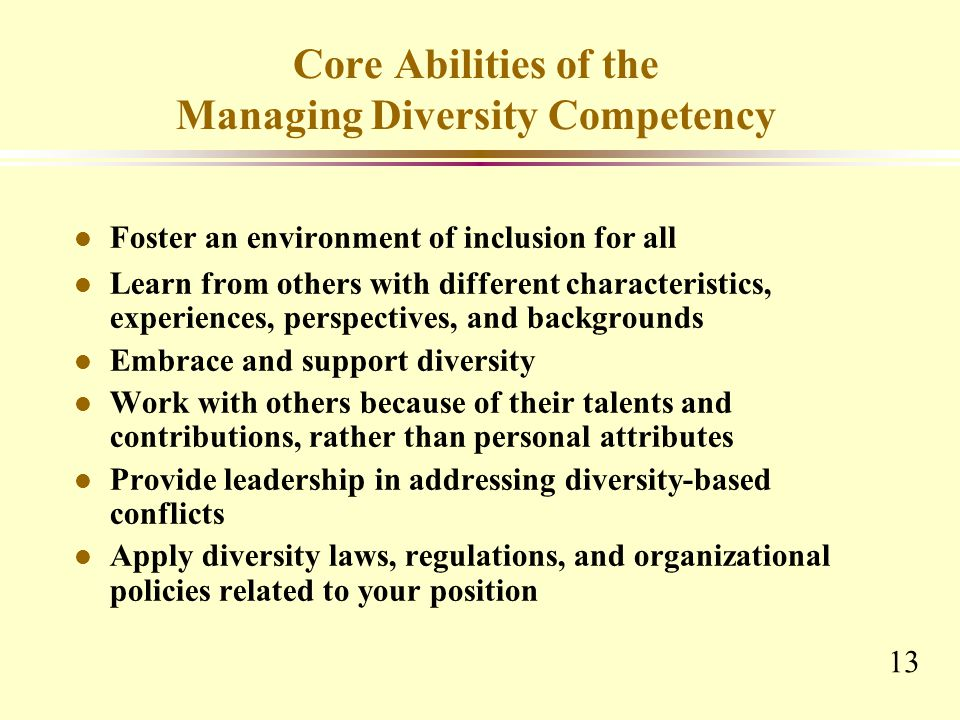 contributions of diversity to the workplace The unique talents and contributions of all  diversity in the workplace  2012 diversity workplace webinar series brought to you by the greater des moines.