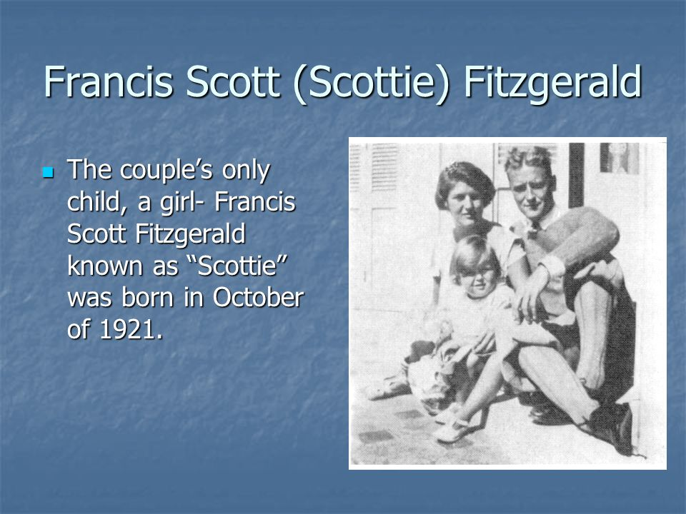 The early life and literary works of francis scott fitzgerald