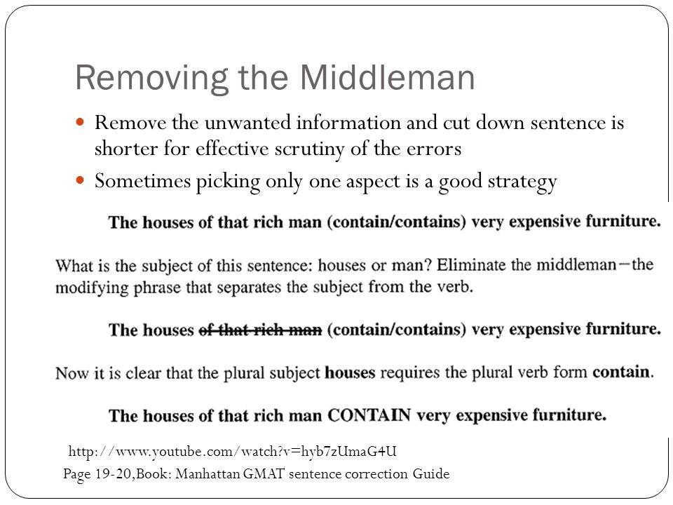 Removing the Middleman