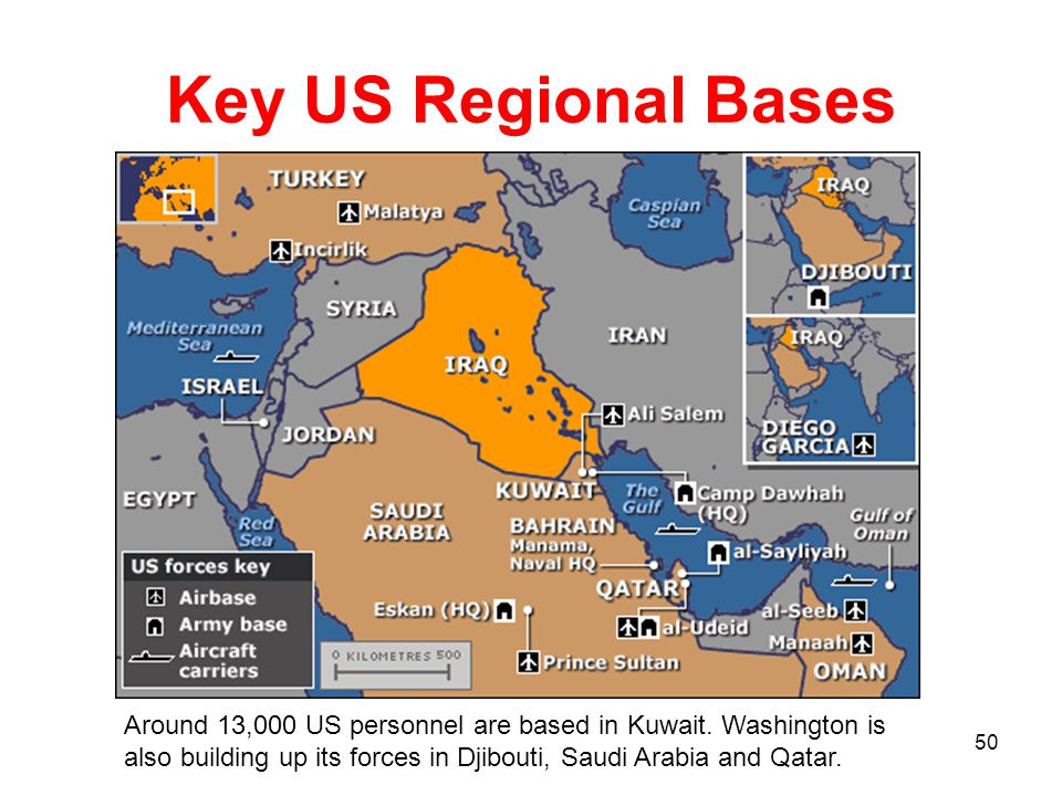 A BRIEF STUDY MSgt Anil Lund Ppt Download - Map of us bases around iraq