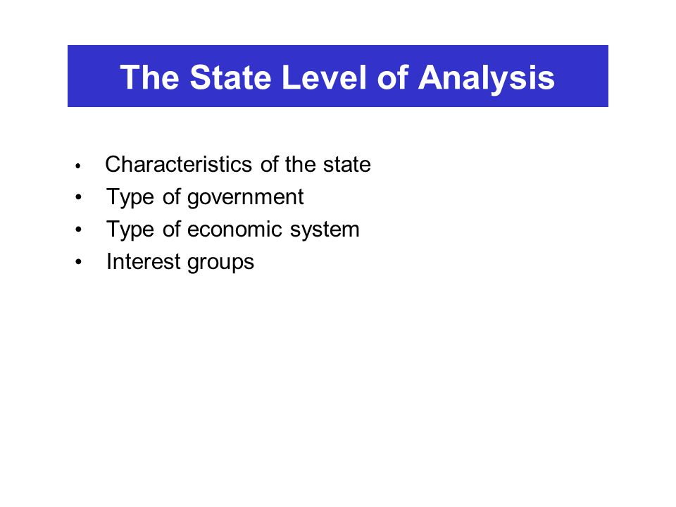 levels of analysis in international relations essays Ir has three main levels of analysis  international relations midterm study guide 22 pages intro to international relations tulane university.