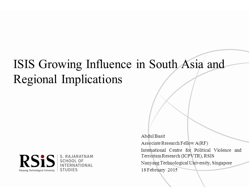 ISIS Growing Influence in South Asia and Regional Implications