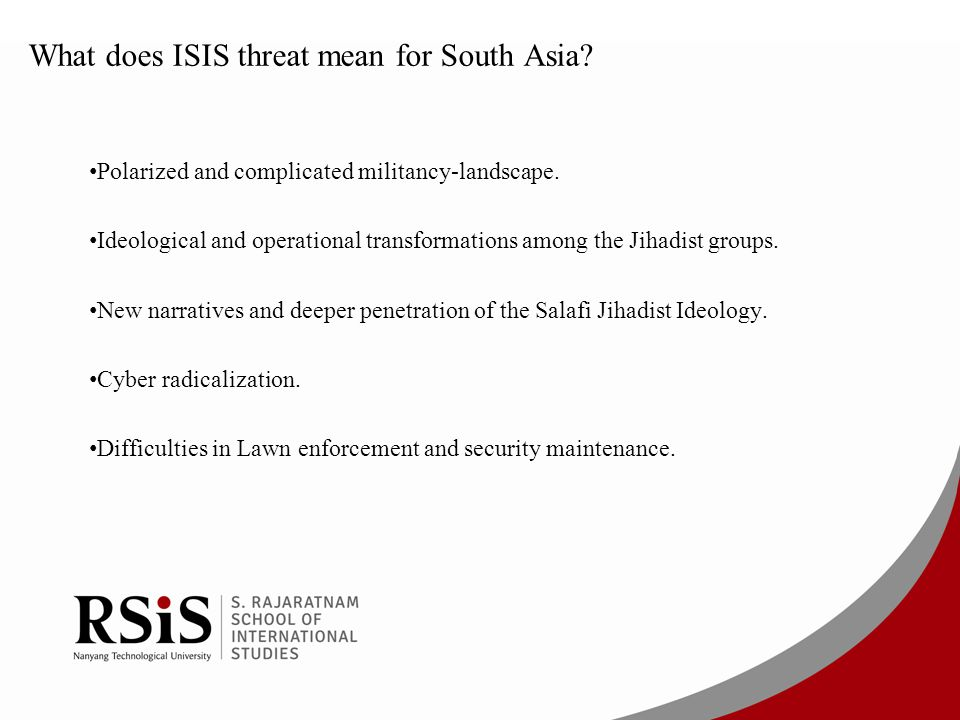 What does ISIS threat mean for South Asia