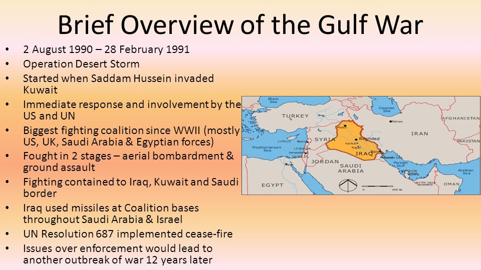 an analysis of the geopolitics and the gulf war of 1991 Discover librarian-selected research resources on geopolitics from the questia online library,  geopolitics, method of political analysis,  persian gulf war.