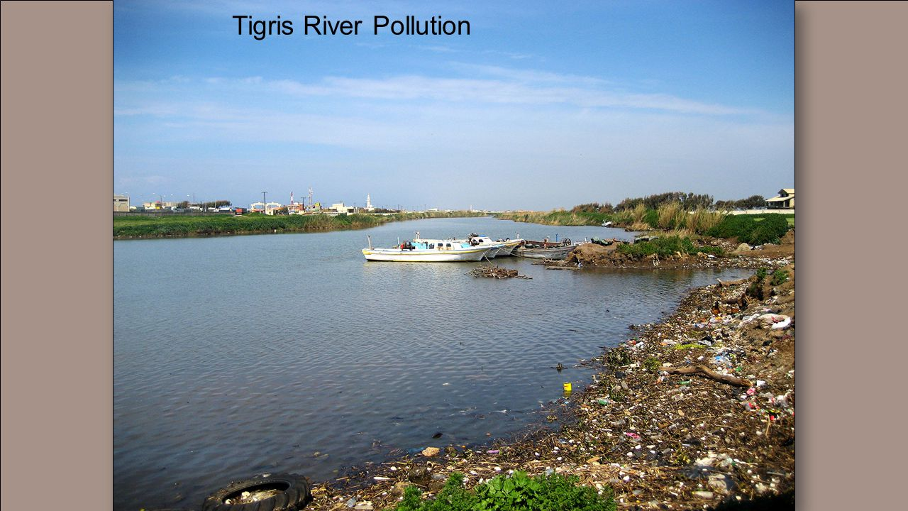 Tigris River Pollution