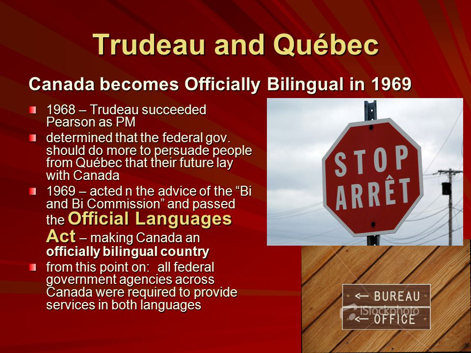 Official bilingualism in Canada