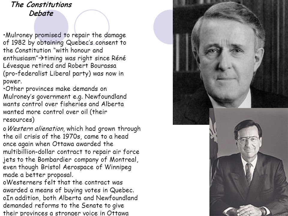 an introduction to the meech lake accord an agreement made by the prime minister of canada I introduction in most other countries, an utterance of the word 'constitution' by those in government would undoubtedly incite public interest and debate ten such public-office holders stand out for palmer: the prime minister solicitor- meech lake accord informed how the all-canada round was undertaken.