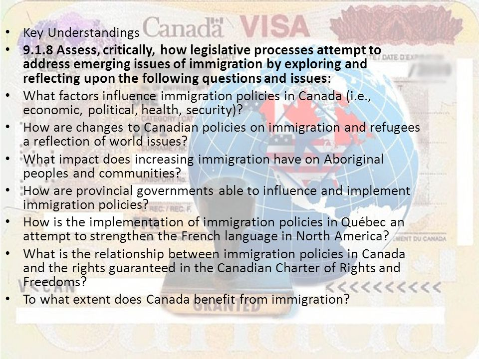 how does canada benefit from immigration Canadian communities benefit from the infusion of many cultures and   communities and countries need to do more than raise the skill levels.