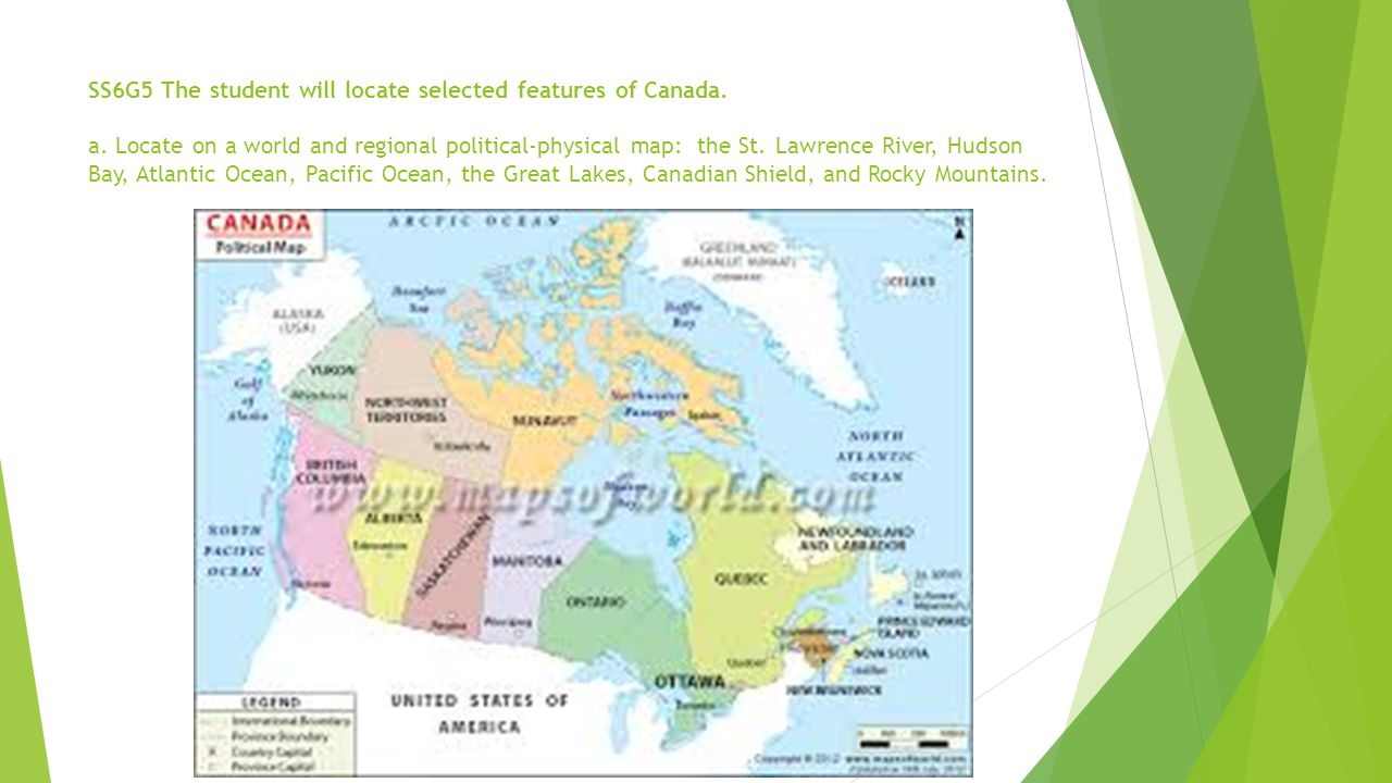 CANADA Ppt Download - Physical features of canada and the united states